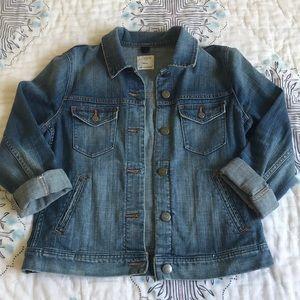 Jcrew jean jacket